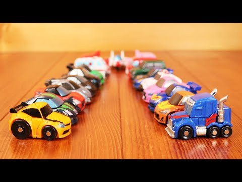 19Type Q-Transformers Toys! Bumblebee,Optimus Prime more Autobots and Decepticons Cars for Kids