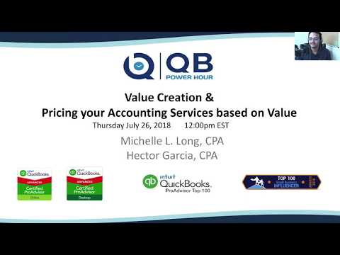 QB POWER HOUR: Value Creation & Value Pricing for Accounting Services