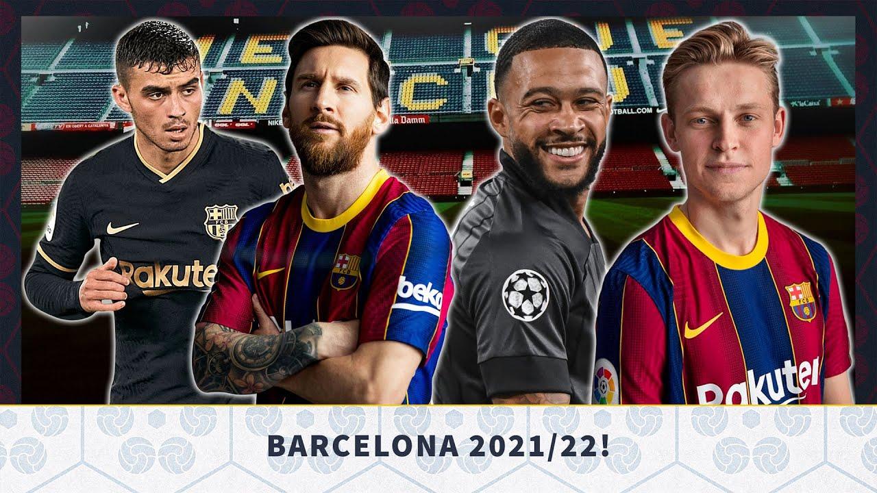 Download FC BARCELONA 2021/22! HOW Will Barcelona Look Next Season?
