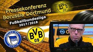 Hertha BSC - Borussia Dortmund: Pk mit Peter Stöger