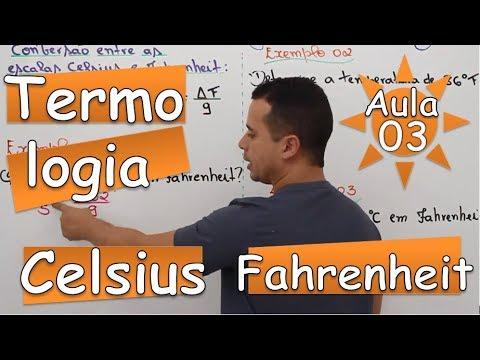 Conversão (Celsius e Fahrenheit) - Aula 03