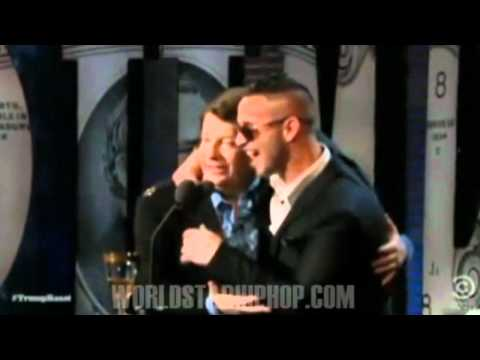 The Situation From Jersey Shore Tries To Crack Jokes On Live TV & Get Booed Off Stage