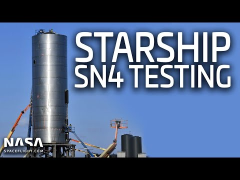 Starship SN4 Testing LIVE From Boca Chica