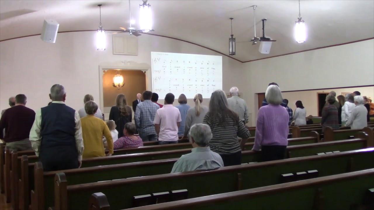 4th Street church of Christ Sunday Morning worship October 18, 2020