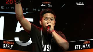 RAFLY VS ETTOMAN|Asia Beatbox Championship 2018 SMALL FINAL Solo Beatbox Battle