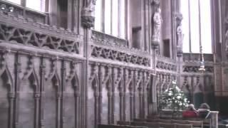 Lichfield Cathedral. Staffordshire.