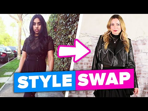 Work Best Friends Swap Styles For A Day