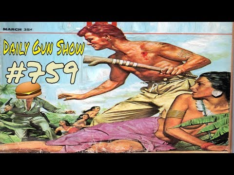 Get Home Bags Ballad of the Green Berets - M50 Reising - Medusa Revolver - Daily Gun Show #759