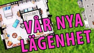 ♥ Visar lägenheten - apartment tour