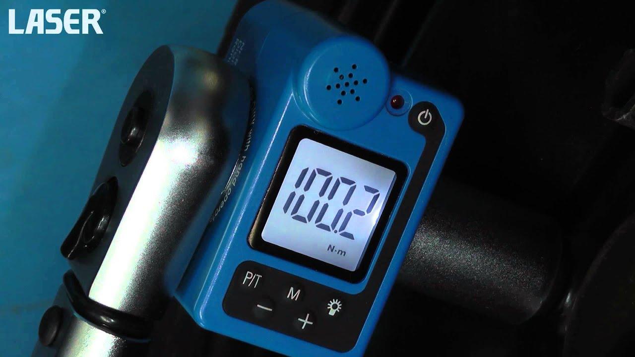 """Laser outils 5520 clé dynamométrique 1//2/""""D 80-400Nm"""