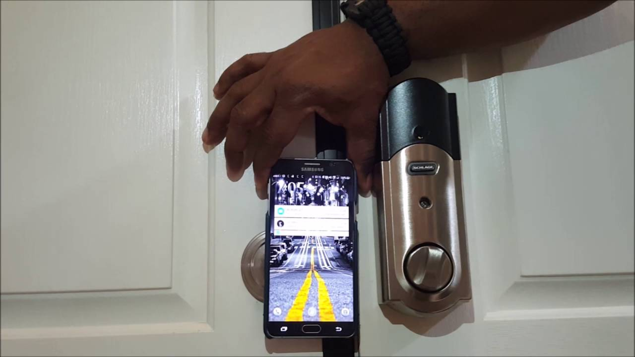 Smart Home Gear Ring Doorbell And Schlage Z Wave Door