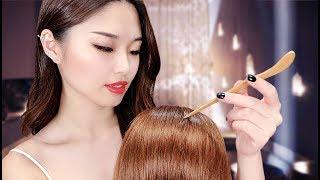[ASMR] Chinese Scalp Massage and Tracing