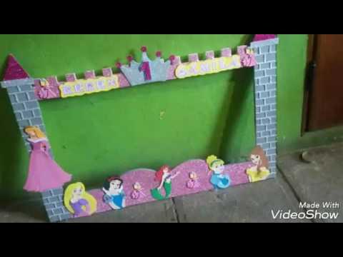 Marco Fotografico De Princesas Youtube