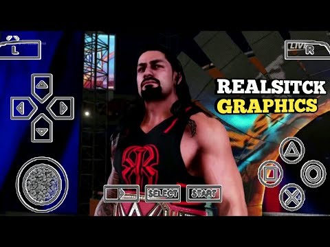 [180 MB]  REAL WWE 2K19 PPSSPP ANDROID DOWNLOAD WWE 2K19 PSP MOD | ANDRO TECH CP I