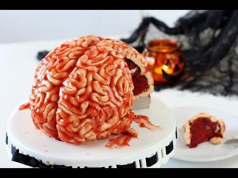 Как сделать торт на хэллоуин