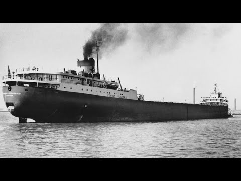 The wreck of the Edmund Fitzgerald  45 years ago
