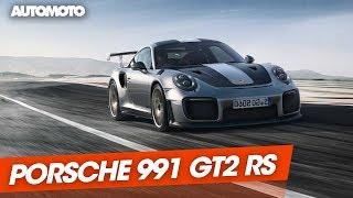 Porsche 911 GT2 RS : la plus puissante des 911 !