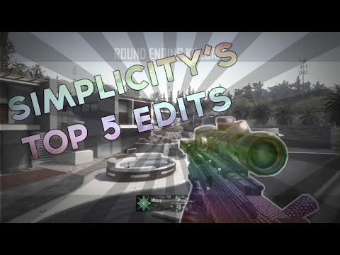 Simplicity's Top 5 Edits | Commentated by Opaque