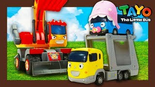 Where did baby Tayo go?  l Tayo Heavy Vehicles Squad S2 l Tayo the little bus