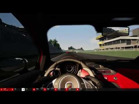 Assetto Corsa 1.0, Career Mode Fiat Abarth 500 on Vallelunga