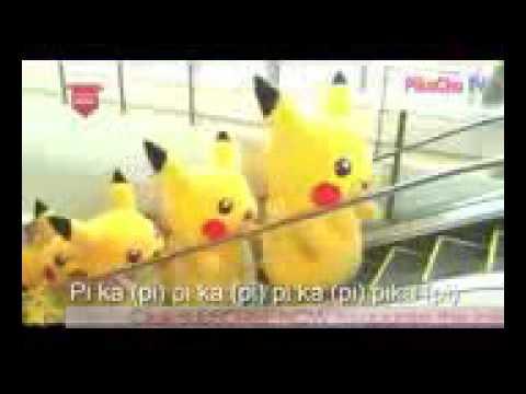 Lagu pokemon listrik piakacu,ada pokemon air squitel