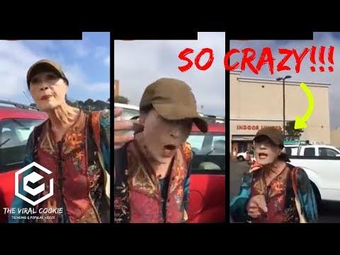 CRAZY WOMEN At Home Depot Parking Lot