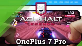 Asphalt 9 on OnePlus 7 Pro – Gaming Test