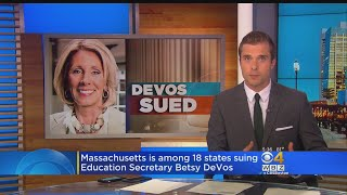 Healey Leads Lawsuit Against DeVos Over For-Profit College Rules