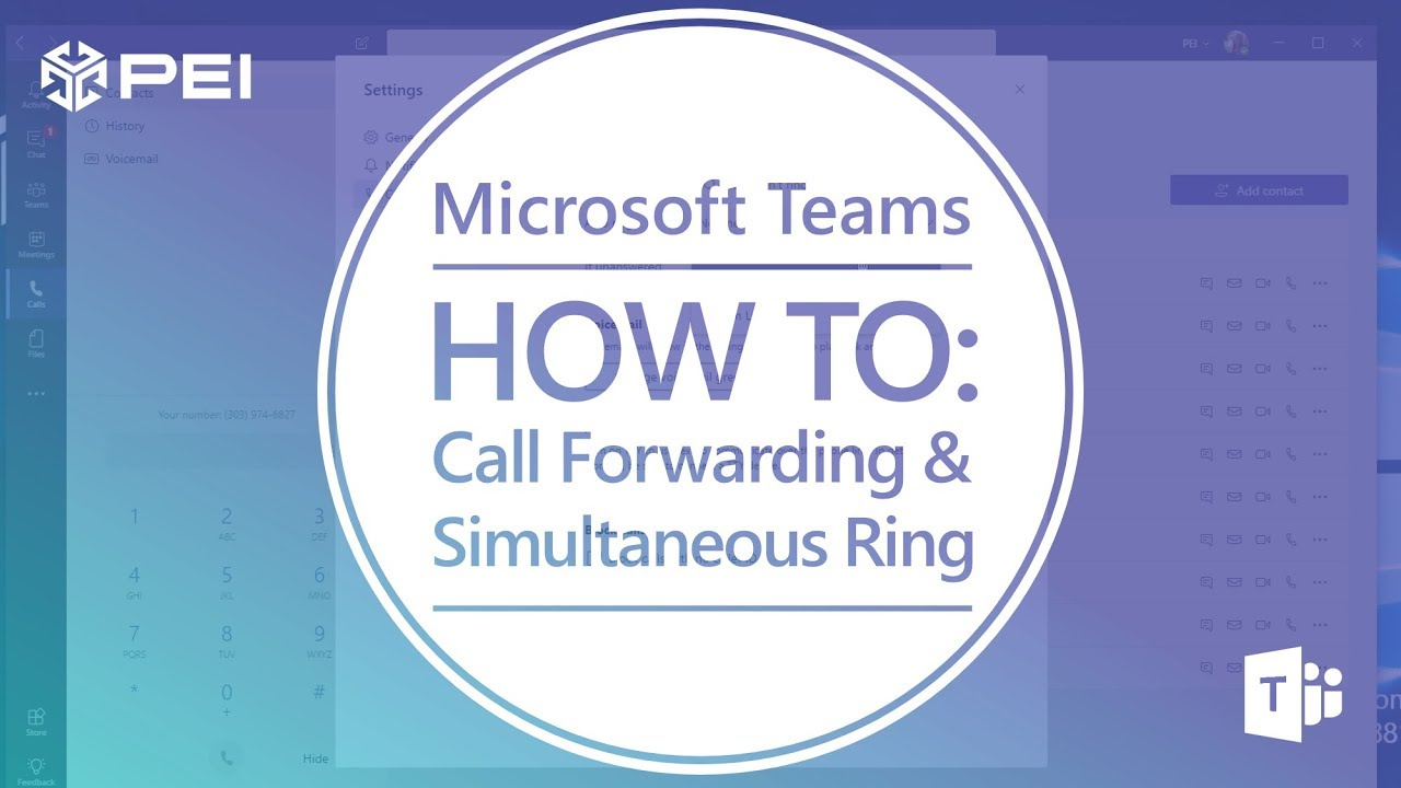 VIDEO] Microsoft Teams: Setup Call Forwarding and