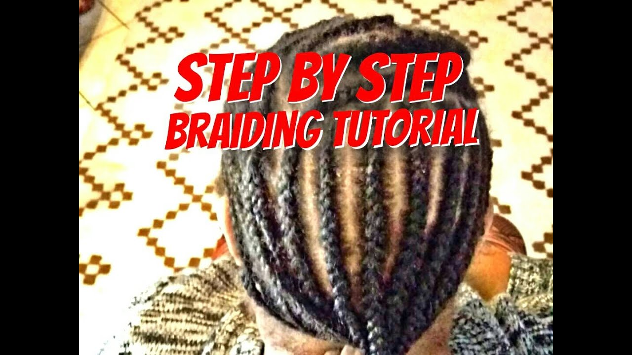 Learn How To Braid Your Own Hair For Beginners Step By Step In Cornrows &  French