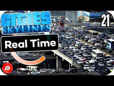 Cities Skylines - Real Time CITY EVENTS Traffic!! #21 Cities Skylines Mods