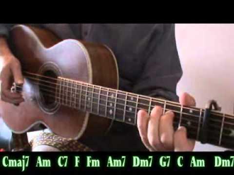 TOMORROW NIGHT (Lonnie Johnson/Bob Dylan) - Chords