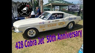 50th Anniversary of the 428 Cobra Jet Mustangs @FabulousFordsForever 2018