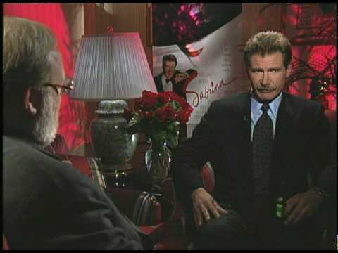 Harrison Ford -- with a mustache! -- talks 'Sabrina' with Joe Leydon