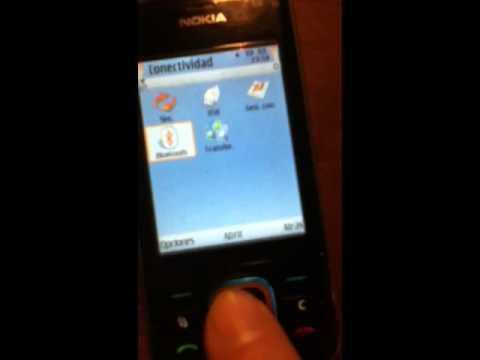 Activació del Bluetooth en un Nokia 6210 Navigator