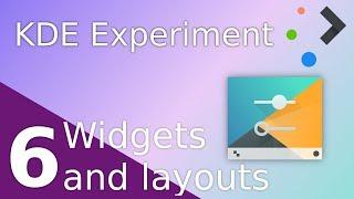 Plasma widgets, layouts, and desktop configuration - KDE Experiment - Part 6
