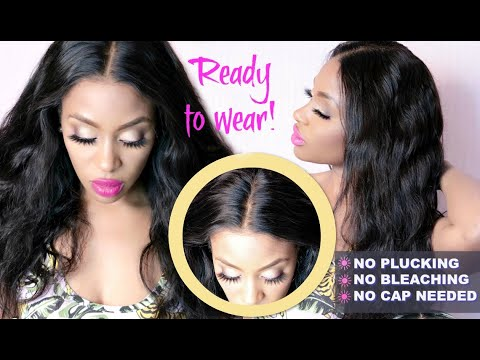 HAIR | Straightening Wavy Hair | MCK HAIR - Peruvian Loose Wave from YouTube · Duration:  6 minutes 24 seconds