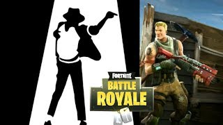 Michael Jackson plays FORTNITE #1 (Mediocre Highlights #3)