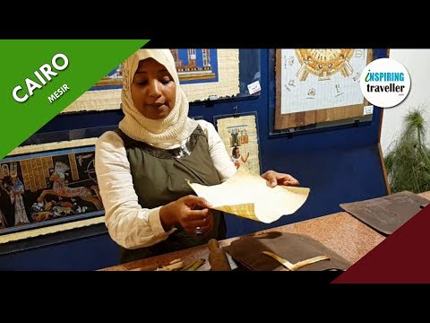 How to make Papyrus in Cairo, Egypt #InspiringTraveller