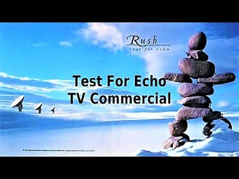 Rush - Test For Echo TV Commercial 1996