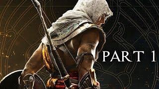 Assassin's Creed Origins Walkthrough Part 1 - Intro (AC Origins Let's Play Commentary)