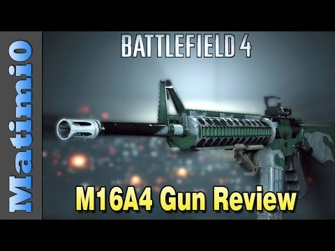 M16A4 Weapon Review - Skilled Killer - Battlefield 4