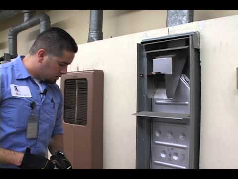 Wall Furnace Inspection Demonstration With Voice Youtube