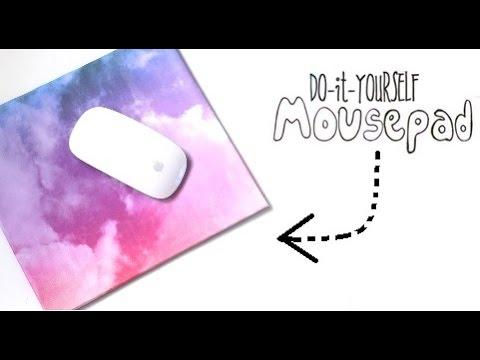 {DIY} Mouse Pad | Cardboard Storage