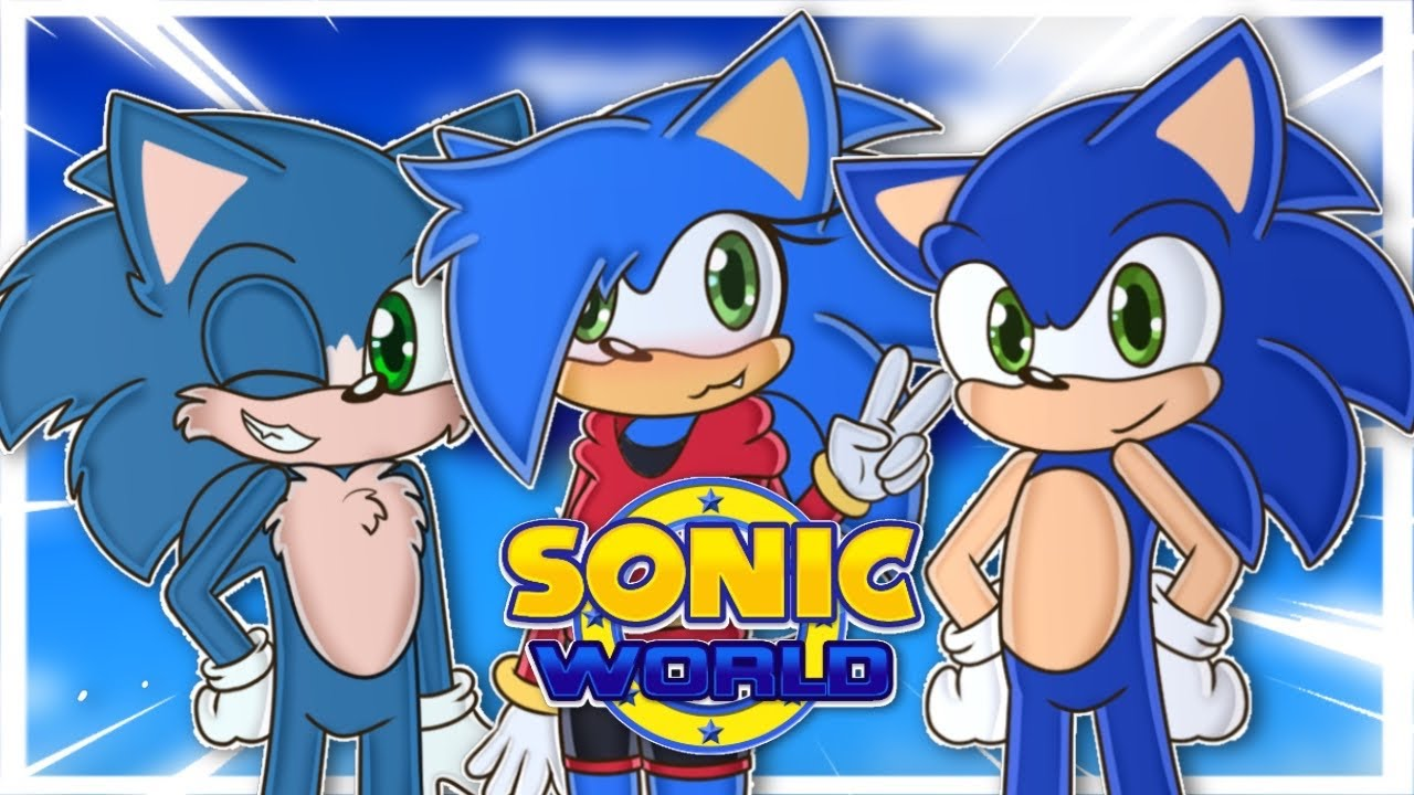 SONIC, MOVIE SONIC AND SONICA PLAY SONIC WORLD WHO'S THE FASTEST? MyTub.uz