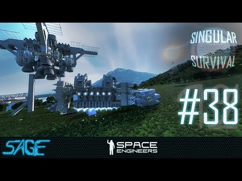 Space Engineers, The Ugly Duckling (Singular Survival, Ep 38)