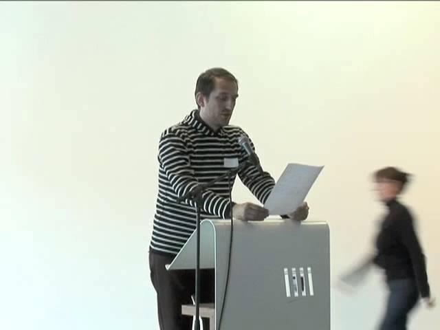 Myndlistarþing 2010 / Erlendir straumar - Markús Þór Andrésson