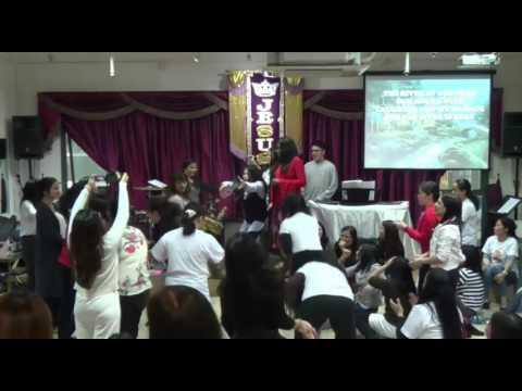 MOVE OF GOD JOY WAVE PROPHETIC ACTS JUENNINE IN HONG KONG