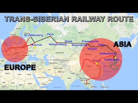 Trans-Siberian Railway Explained | Route, Map, Cities, Countries