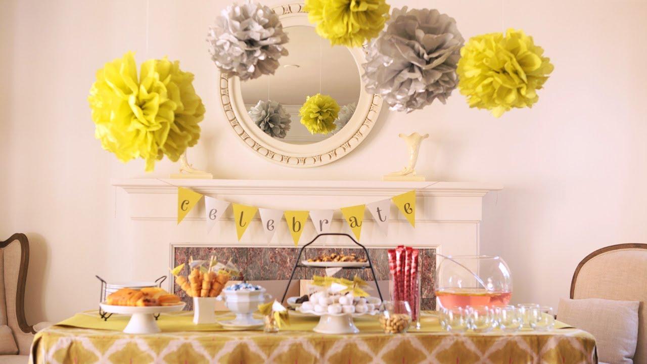 Dessert Diy Ideas Table